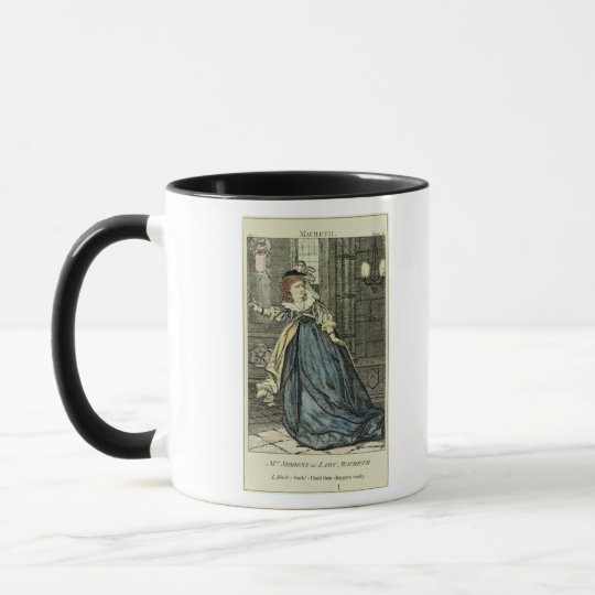 Sarah Siddons  as Lady Macbeth Mug