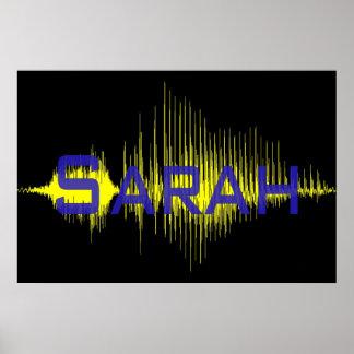 Sarah Sononome Poster