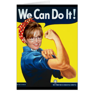 Sarah The Riveter! Card