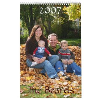 Sarah Version, The Beards, 2007 Calendar