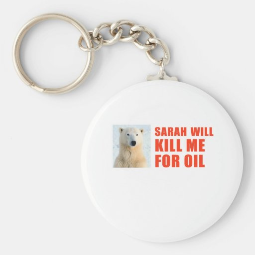 Sarah will kill me for oil basic round button keychain