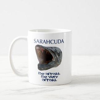 Sarahcuda: Sea taza de café asustada