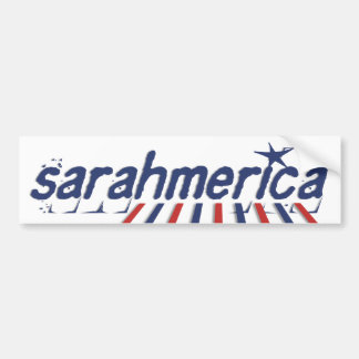 Sarahmerica Bumper Sticker