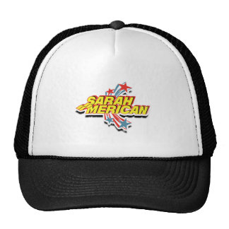 SARAHMERICAN TRUCKER HAT