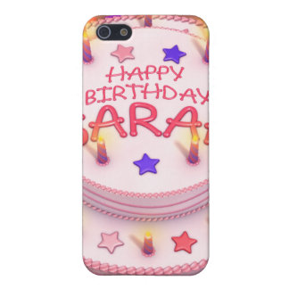Sarah's Birthday Cake Covers For iPhone 5