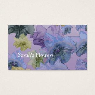 Sarah's Flowers Business Card