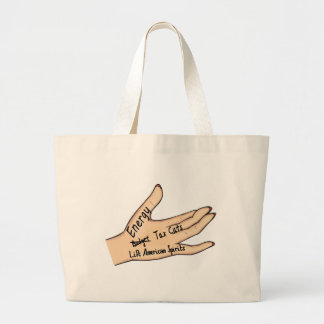 sarah's hand tote bag
