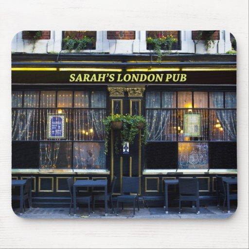 Sarah's London Pub Mouse Pad