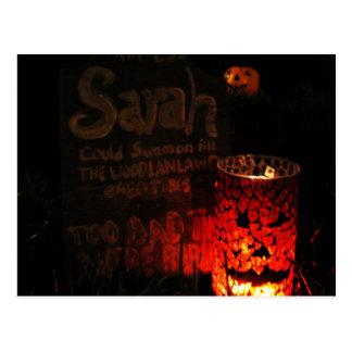 Sarahs Marker Postcard