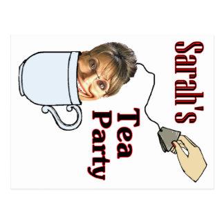 Sarah's Tea Party Postcard