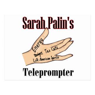 sarahs teleprompter postcard