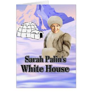 sarahs white house card