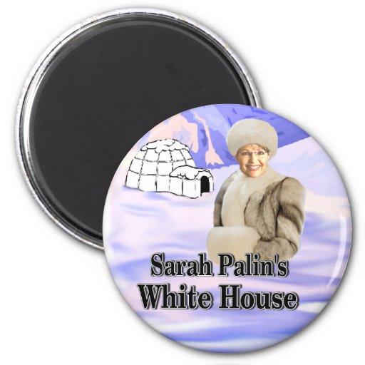 sarahs white house fridge magnet
