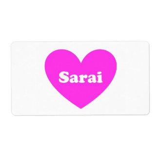 Sarai Label