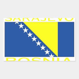 Sarajevo, Bosnia Rectangular Stickers