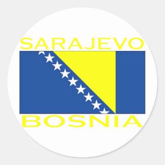 Sarajevo, Bosnia Stickers