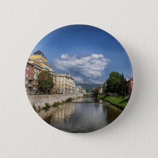 Sarajevo city, capital of Bosnia and Herzegovina Pinback Button