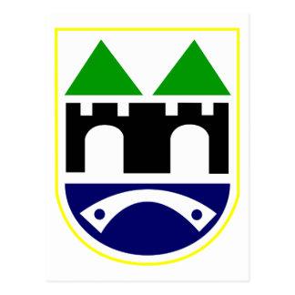 Sarajevo Coat of Arms Postcard