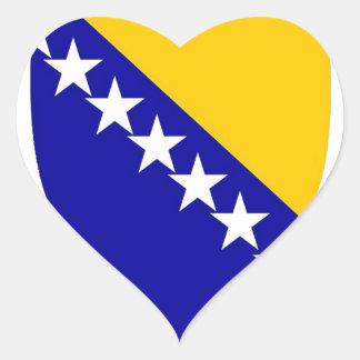 Sarajevo Heart Stickers
