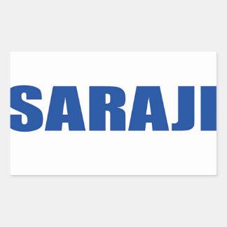 Sarajevo Rectangle Sticker