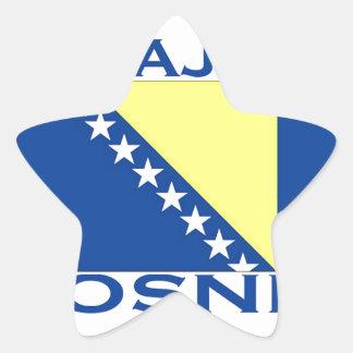 Sarajevo Star Sticker
