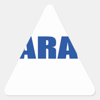Sarajevo Triangle Sticker