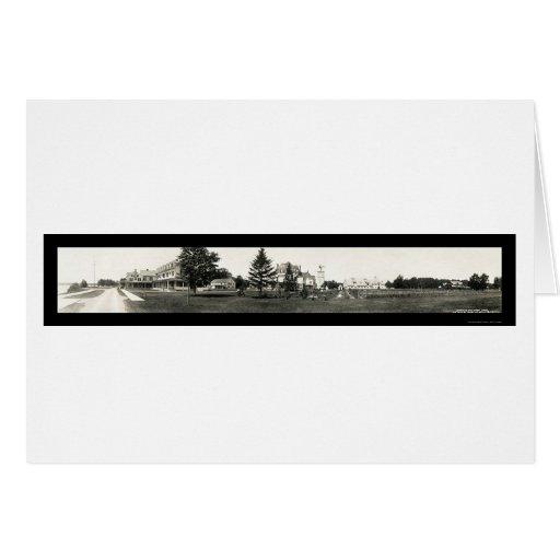 Saranac Inn From Lake Photo 1912 Card