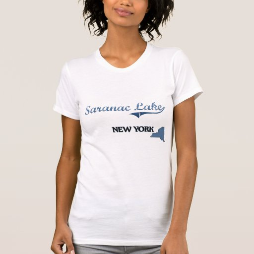 Saranac Lake New York City Classic T-shirts