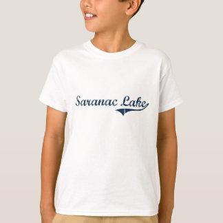 Saranac Lake New York Classic Design T-Shirt