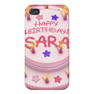 Sara's Birthday Cake Case For iPhone 4