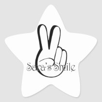 Sara's Smile Suicide Awareness Gear Star Sticker