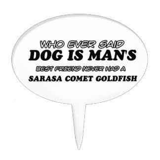Sarasa Comet Goldfish  pet designs Cake Topper