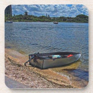 Sarasota bay Boat Drink Coaster
