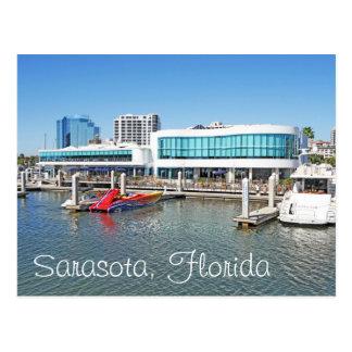 Sarasota by the bay postcard