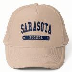 Sarasota Florida College Style tee shirts Mesh Hat