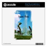 Sarasota Florida iPod Touch 4G Decal