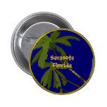 Sarasota, Florida Pinback Buttons