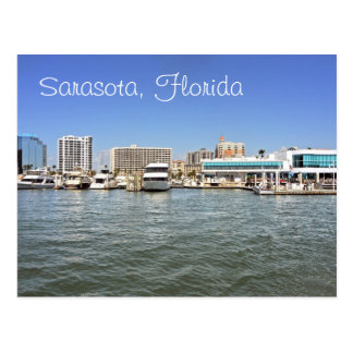Sarasota Florida skyline from the bay Post Cards