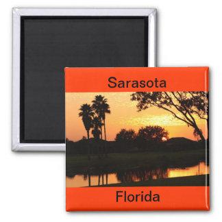 Sarasota, Florida Sunset over Lake Magnet