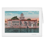 Sarasota, Florida - View of John Ringling Card
