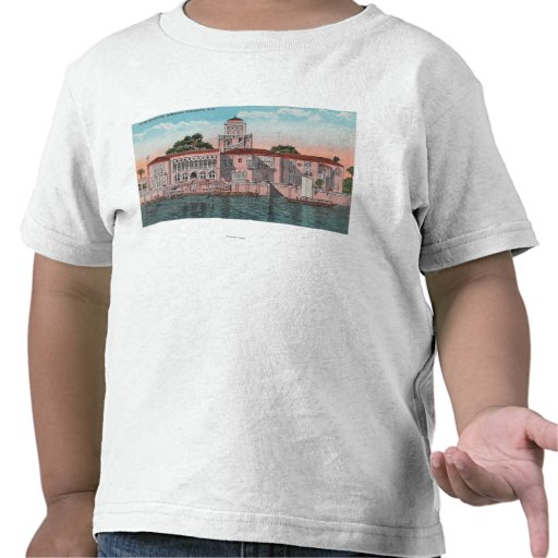 Sarasota, Florida - View of John Ringling T-shirt