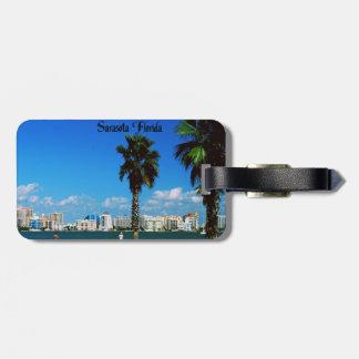 Sarasota la Florida Etiquetas Para Maletas
