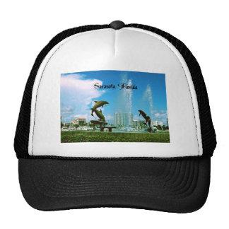 Sarasota la Florida Gorros Bordados