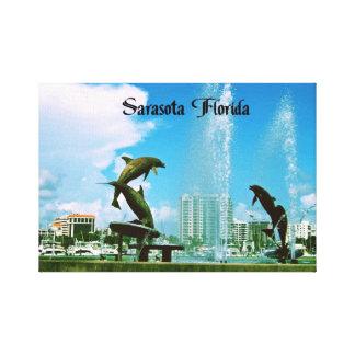 Sarasota la Florida Impresión En Lona Estirada
