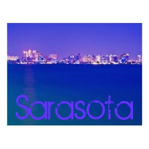 Sarasota, la Florida, los E.E.U.U. Tarjeta Postal