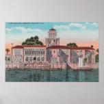 Sarasota, la Florida - opinión Juan Ringling Póster