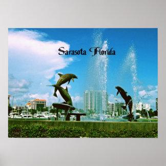 Sarasota la Florida Poster