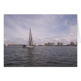 Sarasota Sailboat Card