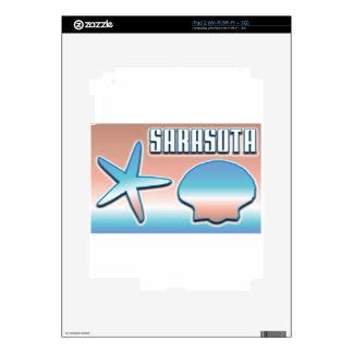 Sarasota Shells Decal For iPad 2
