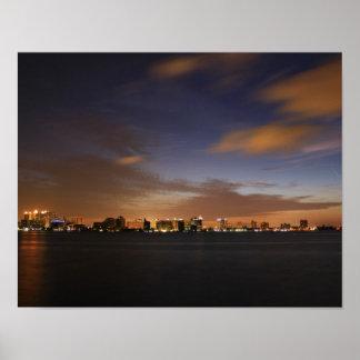 Sarasota Skyline Print